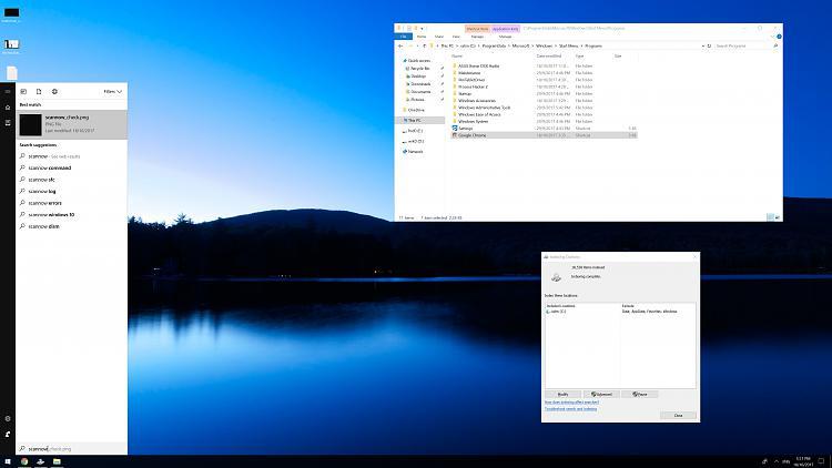 Cortana search not work / Windows search not work / Not indexing-indexingdesktop.jpg