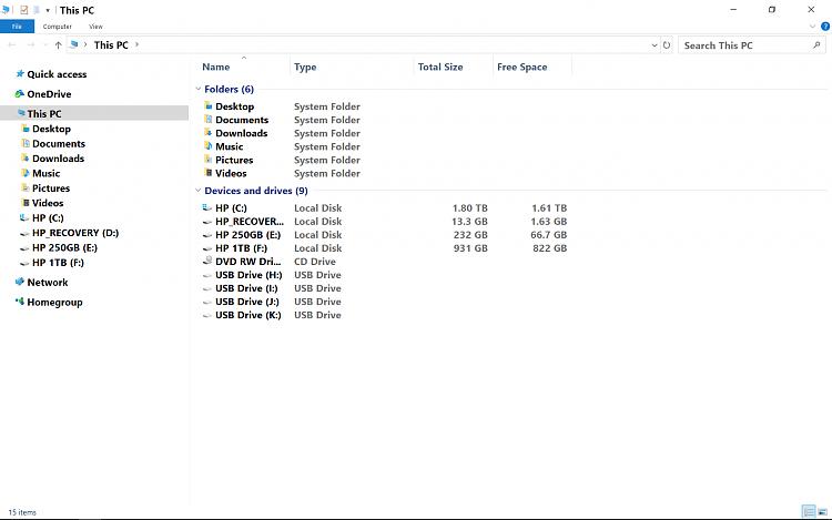 Duplicate listings - Windows 10 Forums