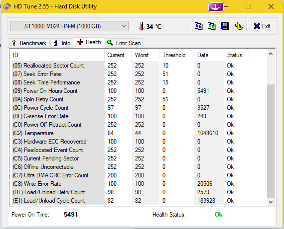 Click image for larger version.  Name:secondary_drive_2_HDTune_Health.png.png Views:9 Size:32.1 KB ID:167227