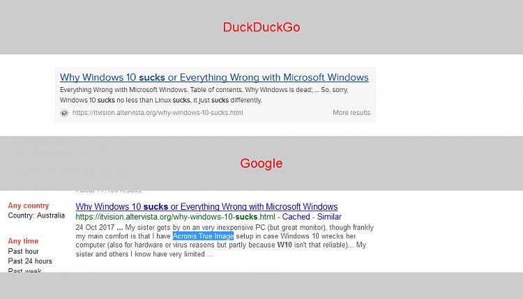 Click image for larger version.  Name:DDG vs Google.png Views:3 Size:34.3 KB ID:167382