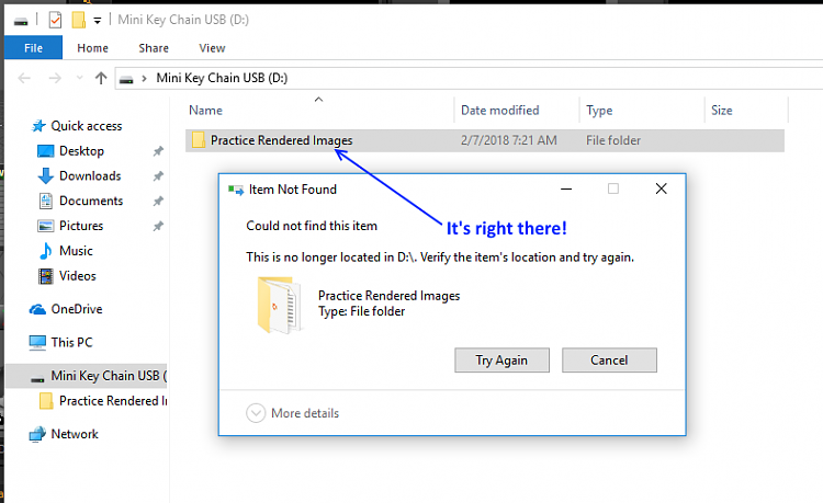 Cannot copy a file from USB to desktop in Windows 10 Solved