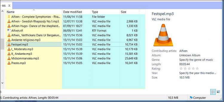 File Explorer displays MP3 details, NOT File Details. How to switch ?-1.jpg