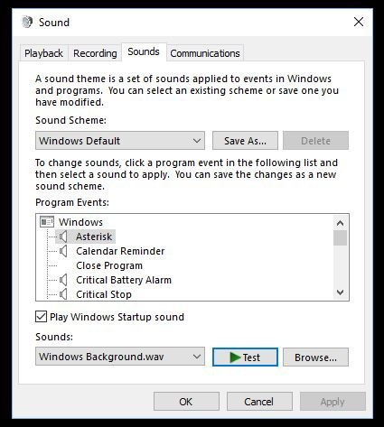 windows 10 default sounds no longer working Solved - Windows 10 Forums