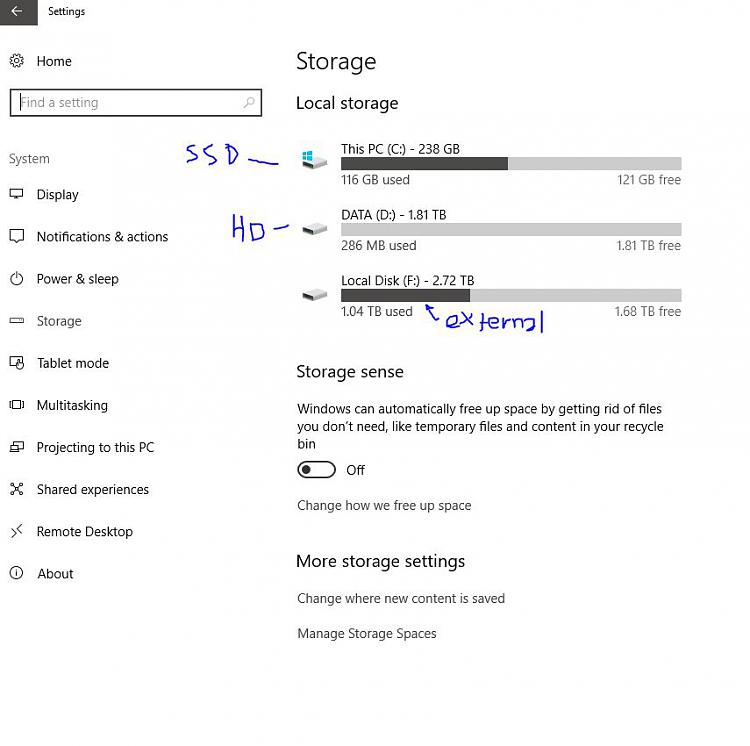 not enough space for windows 10 update