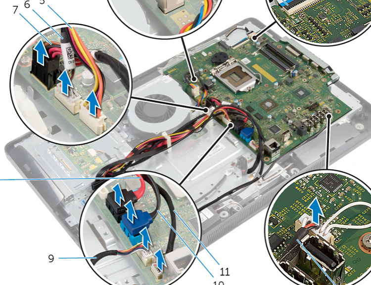 Click image for larger version.  Name:Dell AIO Inspiron 20-3048 system board.PNG Views:4 Size:1.02 MB ID:180663