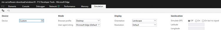 Click image for larger version.  Name:Emulation mode settings.PNG Views:6 Size:16.5 KB ID:182378