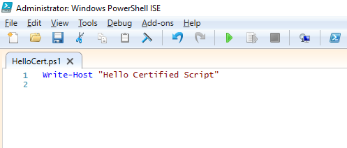 How to sign Powershell profile w/ self-signed certificate?-createcert024.png