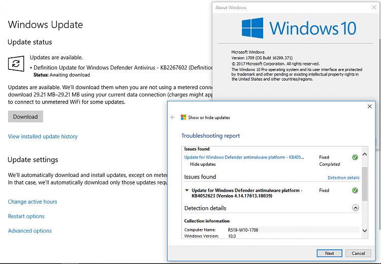 blank pale blue screen on restarting - Windows 10 Forums
