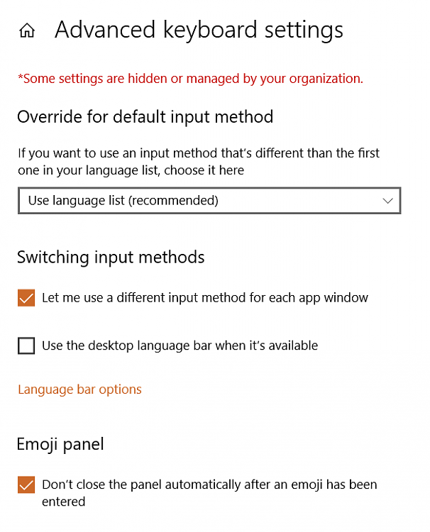 windows 10 single language 1803