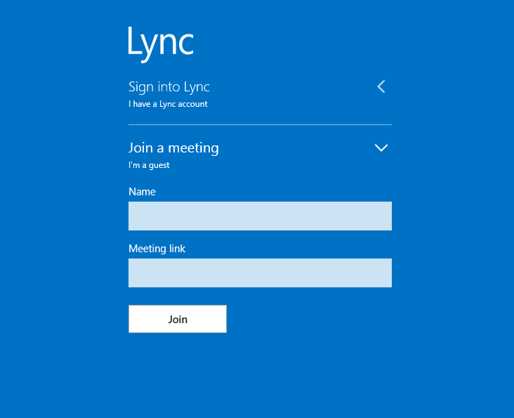 Click image for larger version.  Name:Lync App.PNG Views:17 Size:10.1 KB ID:18762