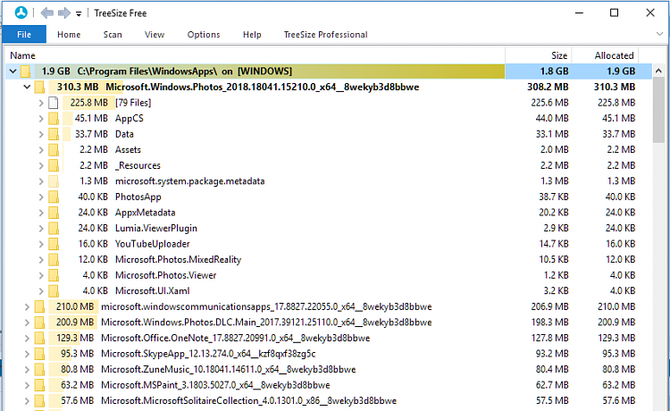 Getting full access to C:\Program Files\WindowsApps