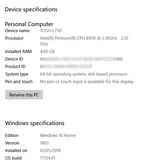 Click image for larger version.  Name:Windows specs.PNG Views:27 Size:29.0 KB ID:191345