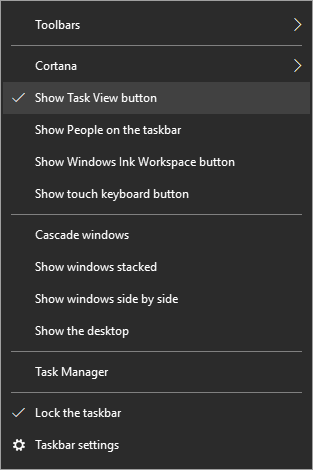 Click image for larger version.  Name:Show Task View button.PNG Views:21 Size:9.8 KB ID:191567