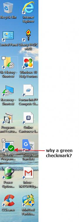 one of my desktop shortcuts has a green checkmark, why ?-shortcut-icon....-green-check.jpg