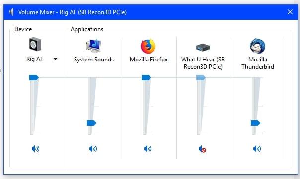 Volume Mixer Default fix  - Windows 10 Forums