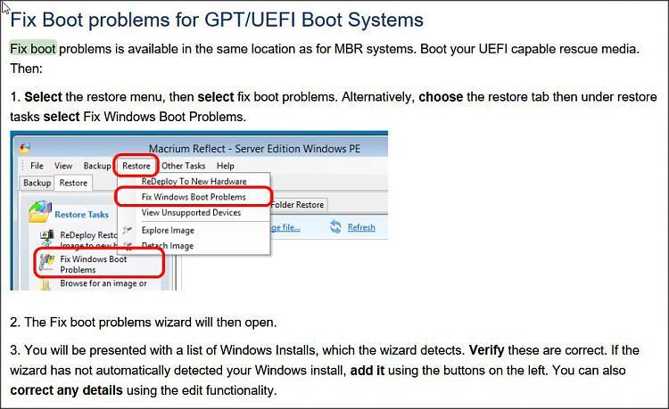 how to run windows startup repair windows 10