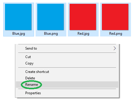 How to rename multiple sorted files while ignoring file extensions-rename2.png
