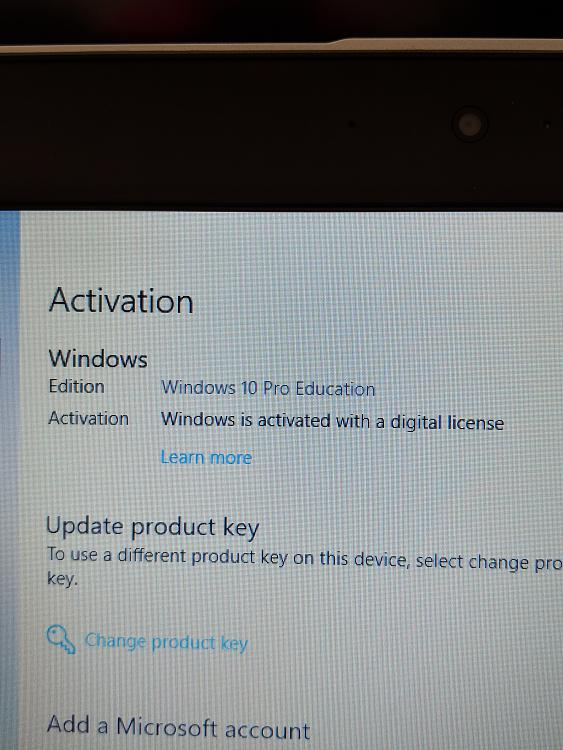 New HP Probook with Win 10 Pro Education - Windows 10 Forums