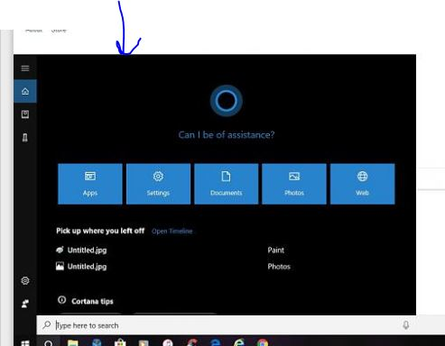 Cortana search box is now huge Solved - Page 2 - Windows 10 Forums