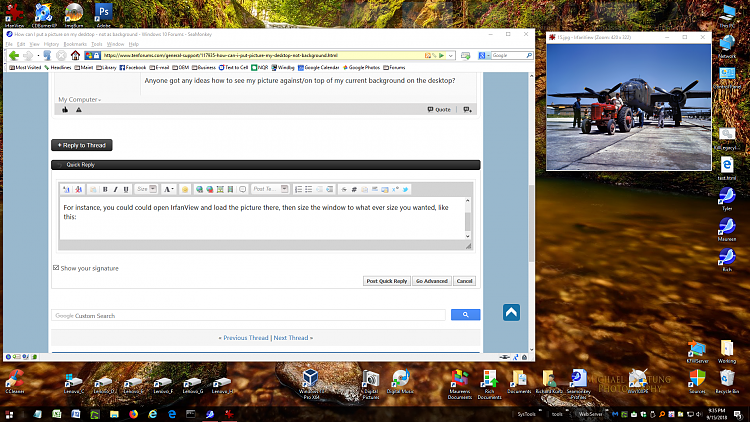 Desktop Background Not Showing