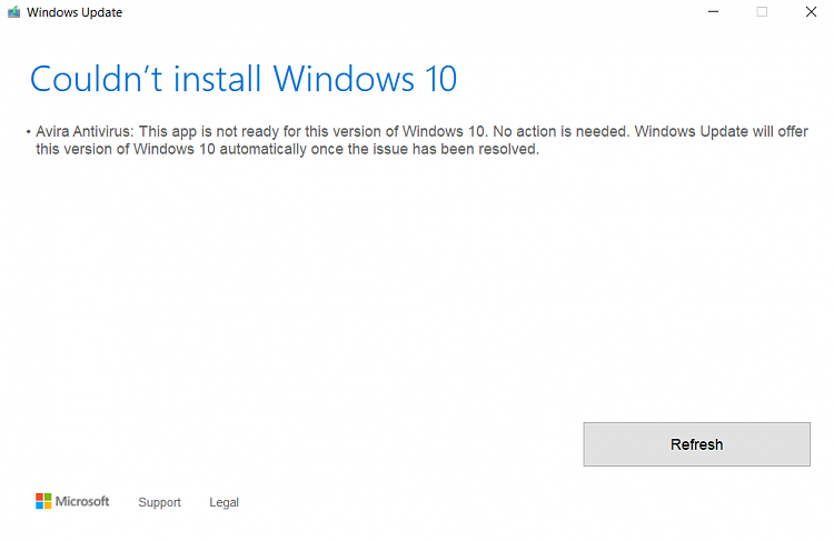 Windows 10 Insider Preview 10 0 17763 1 (rs5_release) unable to