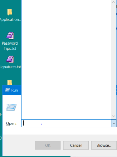 2e29db15283f Run dialog box doesn t remember history Solved - Windows 10 Forums