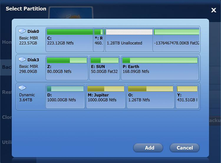win7 partition