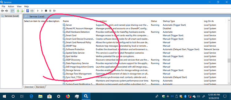 no superfetch service at 1809??? Solved - Windows 10 Forums