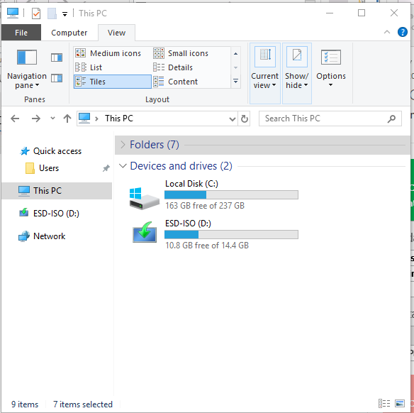 Show All Local Disks In The Navigation Pane-capture.png