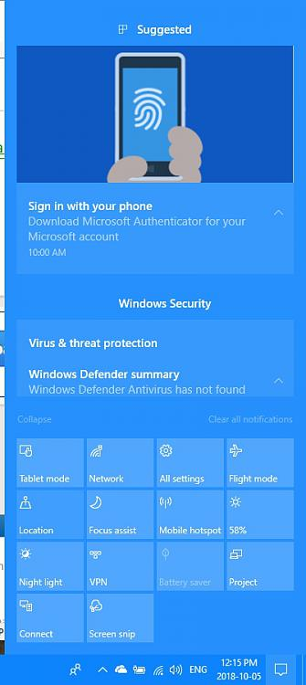 No Notifications Solved - Windows 10 Forums