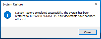 Click image for larger version.  Name:System Restore Success.PNG Views:39 Size:9.4 KB ID:207249