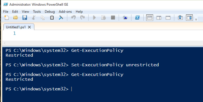 Cannot Set Execution Policy in Powershell Solved - Windows 10 Forums