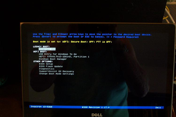 No Boot Device Found Solved - Windows 10 Forums