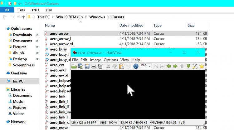 Mouse cursor too big - Windows 10 Forums