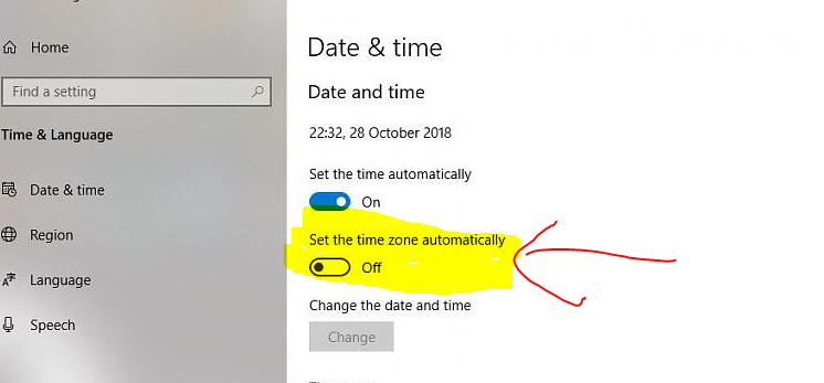 Anyone got wrong time on V1809? It was daylight saving today-image.png