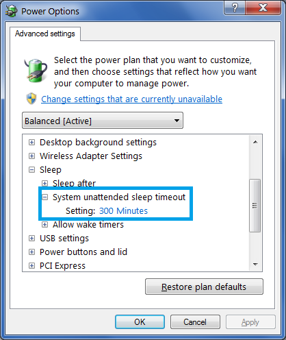 Click image for larger version.  Name:Control Panel Sleep Timeout.png Views:604 Size:39.3 KB ID:21058