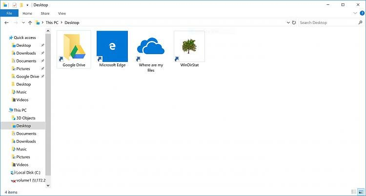 "Is it safe to delete those ""Where are my files"" Icons?  And how?-onedrive.jpg"