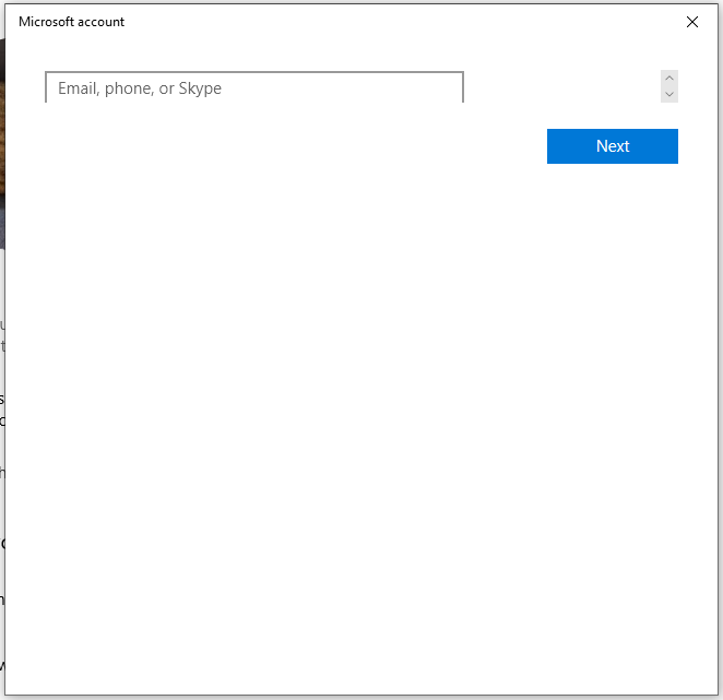 ui bug on microsoft account & crystaldiskmark - Windows 10