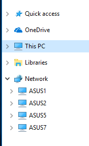 File exploer - why multiple public and documents folders-win10-fileexplorer-left-pane.png