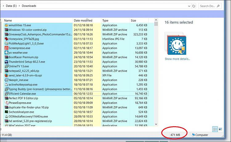 """Always """"show more details"""" in explorer when > 15 files selected?-1.jpg"""