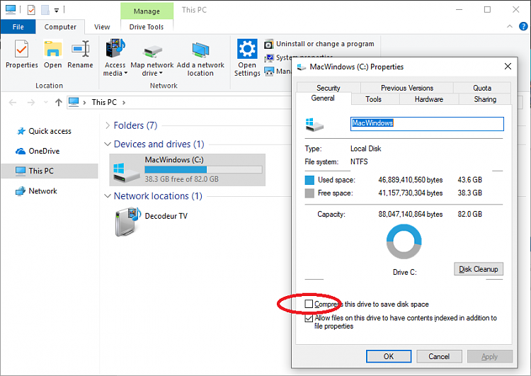 Win10 keeps compressing C drive files (new and old). Cannot stop it.-capture.png