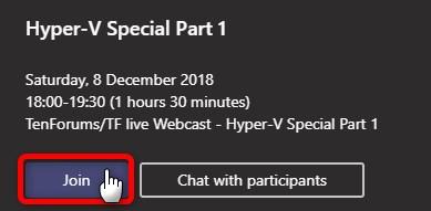 Ten Forums Live Webcast - Hyper-V Special December 8th, 2018-image.png