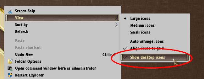 Right click desktop > New > Folder       new folder does not