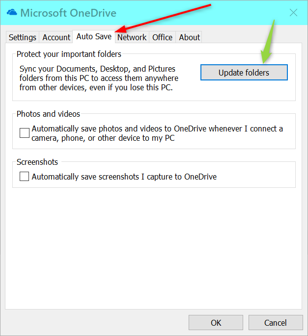 """""""This PC"""" My Documents folder pointing to One Drive and Cannot Change-2019-01-06_18h14_42.png"""