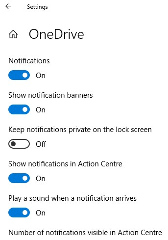 OneDrive Notification Pop-ups Stopped Working After October Update