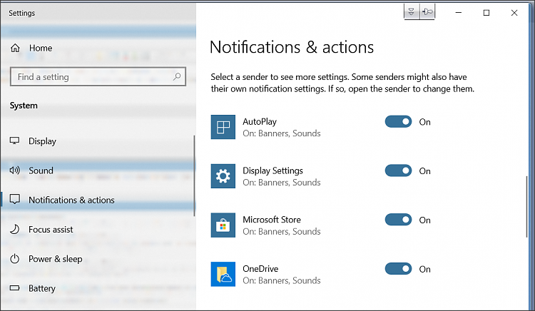 Turn off taskbar pop up notifications? - Windows 10 Forums
