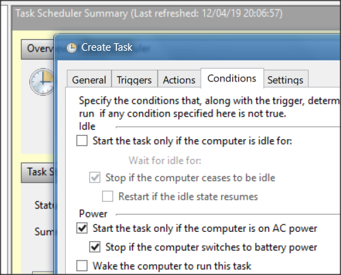 scheduled task restart & logon - Windows 10 Forums