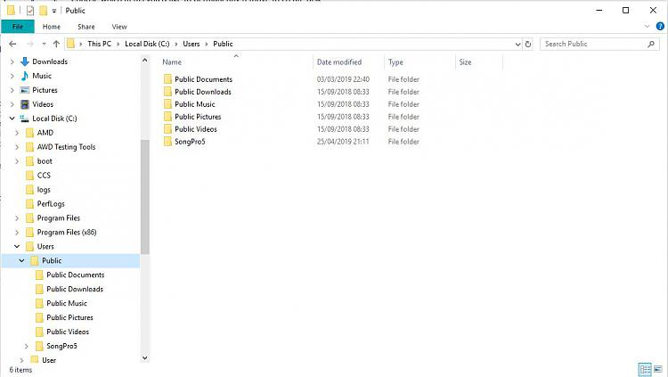 Moving Public Folder to another drive Solved - Windows 10 Forums