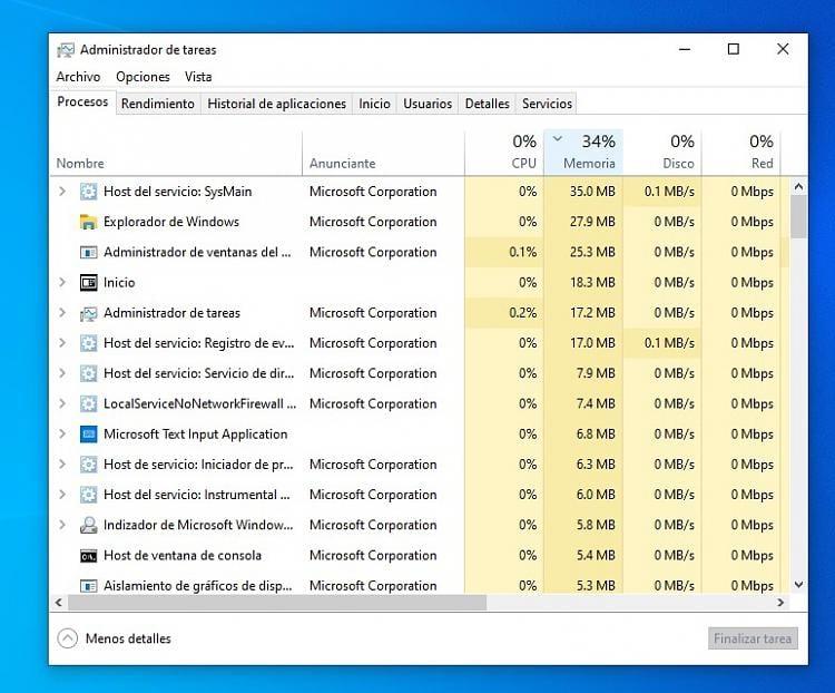 Microsoft Text Input Application/Inicio (Start in English