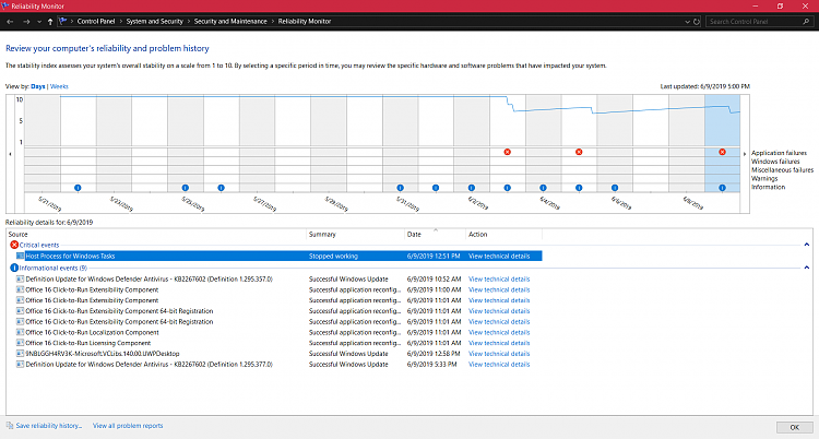Host Process For Windows Tasks stopped working, Windows 10 1903-taskhost.png
